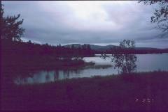 Lupukat ja Jouhkaispää Luirojärven takaa 2.8.2001