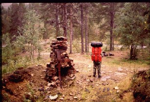 Vanhan Sudenpesän rauniot 2.9.1982