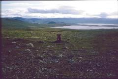 Tsahkaljärvi ja Kilpisjärvi 8.7.1984