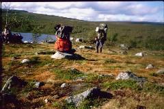 Tsahkaljärven itäpäässä 8.7.1984