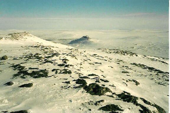 Saivaara Meekonvaaralta nähtynä 12.4.1986