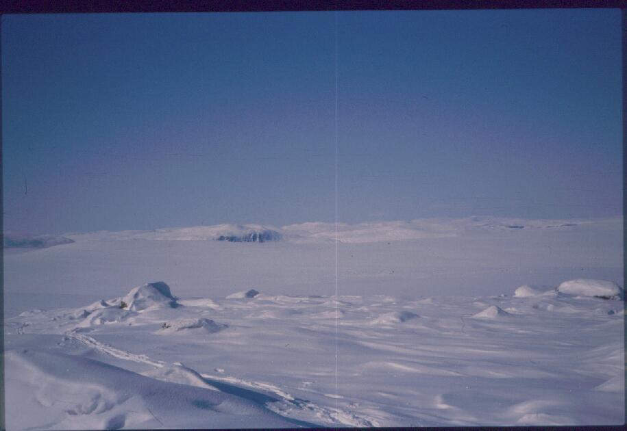 Virdninibalta luoteeseen/pohjoiseen 13.4.1987