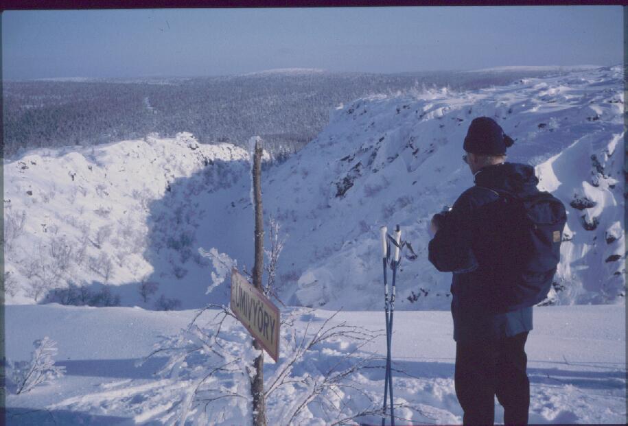 Isä Harripään Kulmakurulla 14.3.1985