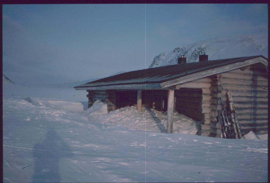 Terbmisjärven tupa 15.4.1986
