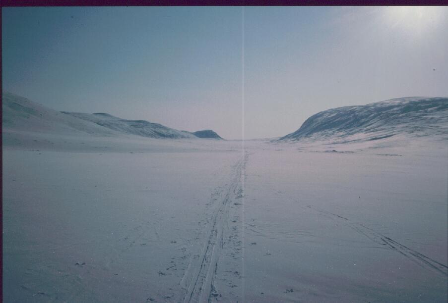 Jollanoaivin nokka, Terbmisjärvi ja Terbmisvarri 15.4.1986