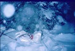 Suomunlatvoilta Teräväkivenpään ja Niilanpään välisestä solasta 17.2.2001