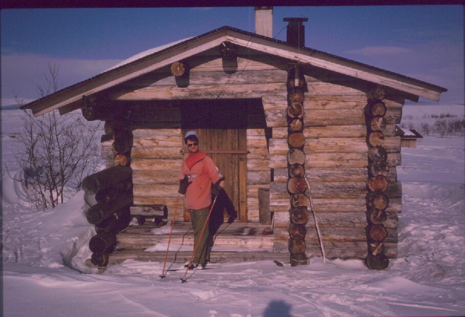 Kemijoki Oy:n 'Kekkosen' kämppä 17.4.1988