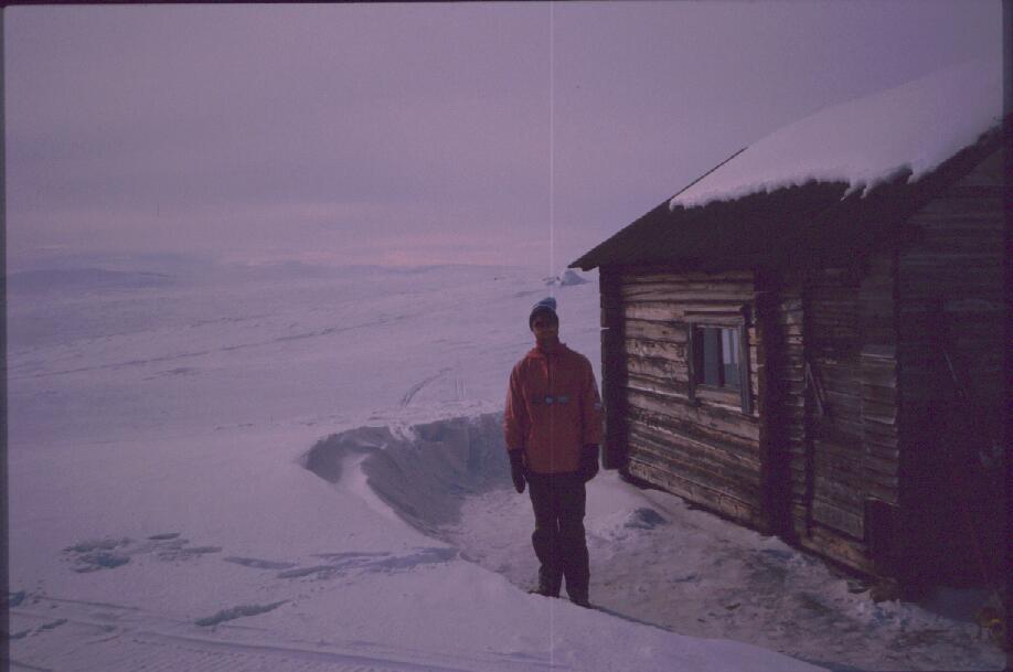 Taabmajärven autiotupa 18.4.1988