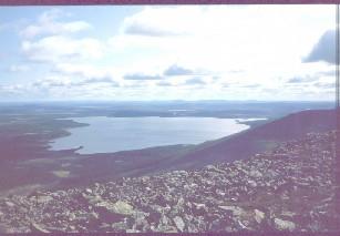 Pallasjärvi Pyhäkerolta päin 18.8.1983