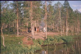 Alempi Kiertämäjärvi 19.7.1988