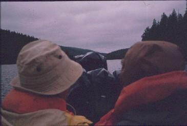 Venekyytiä Lemmenjoella 20.7.1989