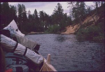 Venekyyti takaisin Njurgalahteen 24.7.1989