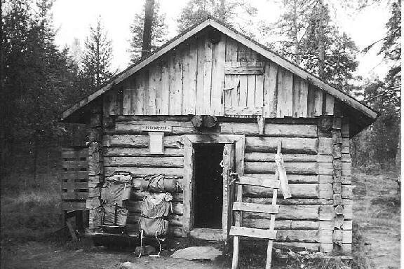 Porokämppä Luirojärvellä 27.8.1995