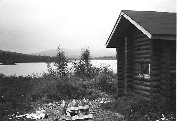 Luirojärven sauna 27.8.1995