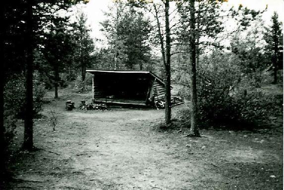Kopsusjärven laavu 29.8.1995