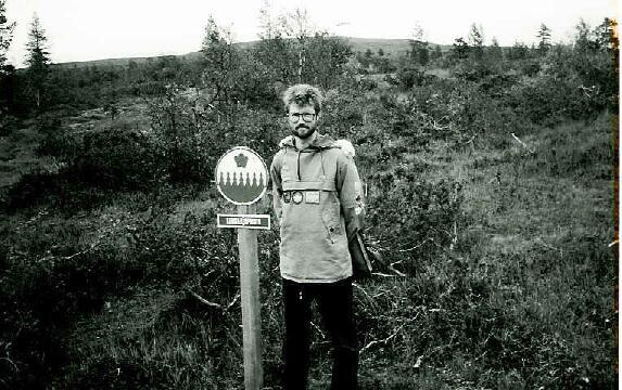 Kiilopään eräkeskuksen lähellä kansallispuiston rajalla 29.8.1995