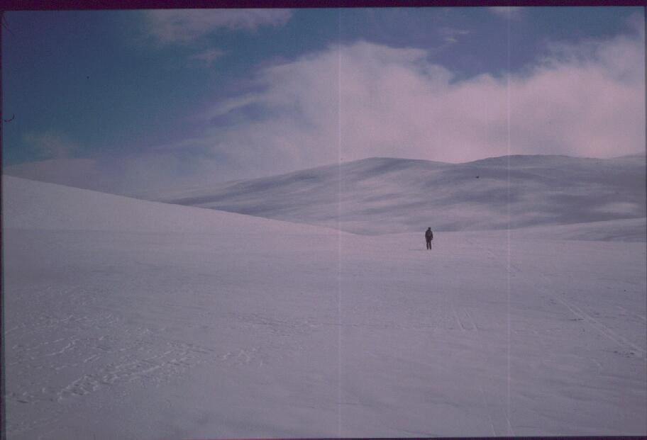 Lähestymme Tuolljehuhputia pohjoisesta 30.4.1989