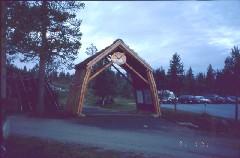 UKK-puiston kaari Kiilopäällä 31.7.2001