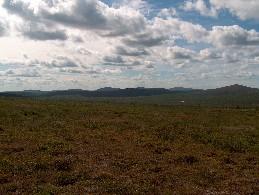 Urroaivin rinteiltä Gáisavarrin suuntaan 1.7.2005