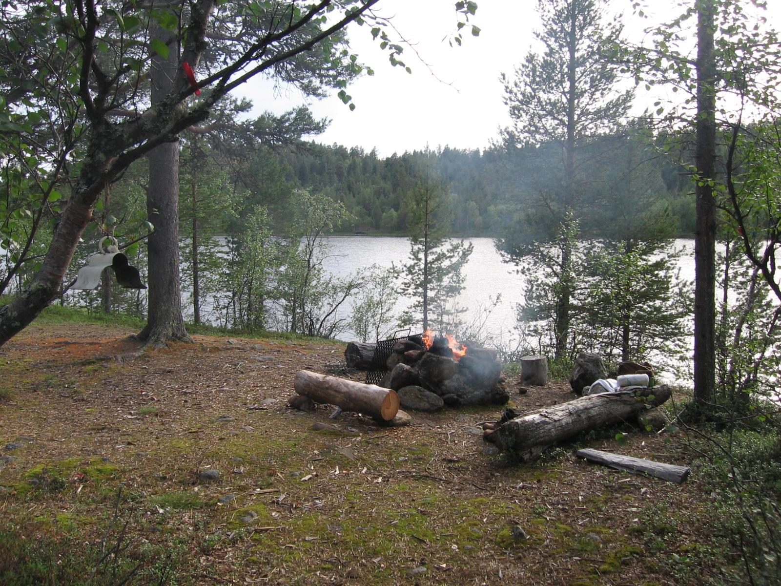Illestipääjärvellä 4.8.2010