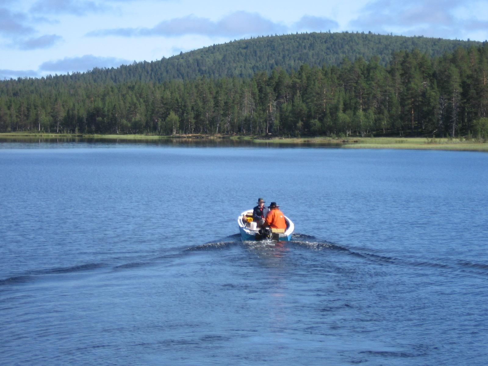Aittajärvi 6.8.2010