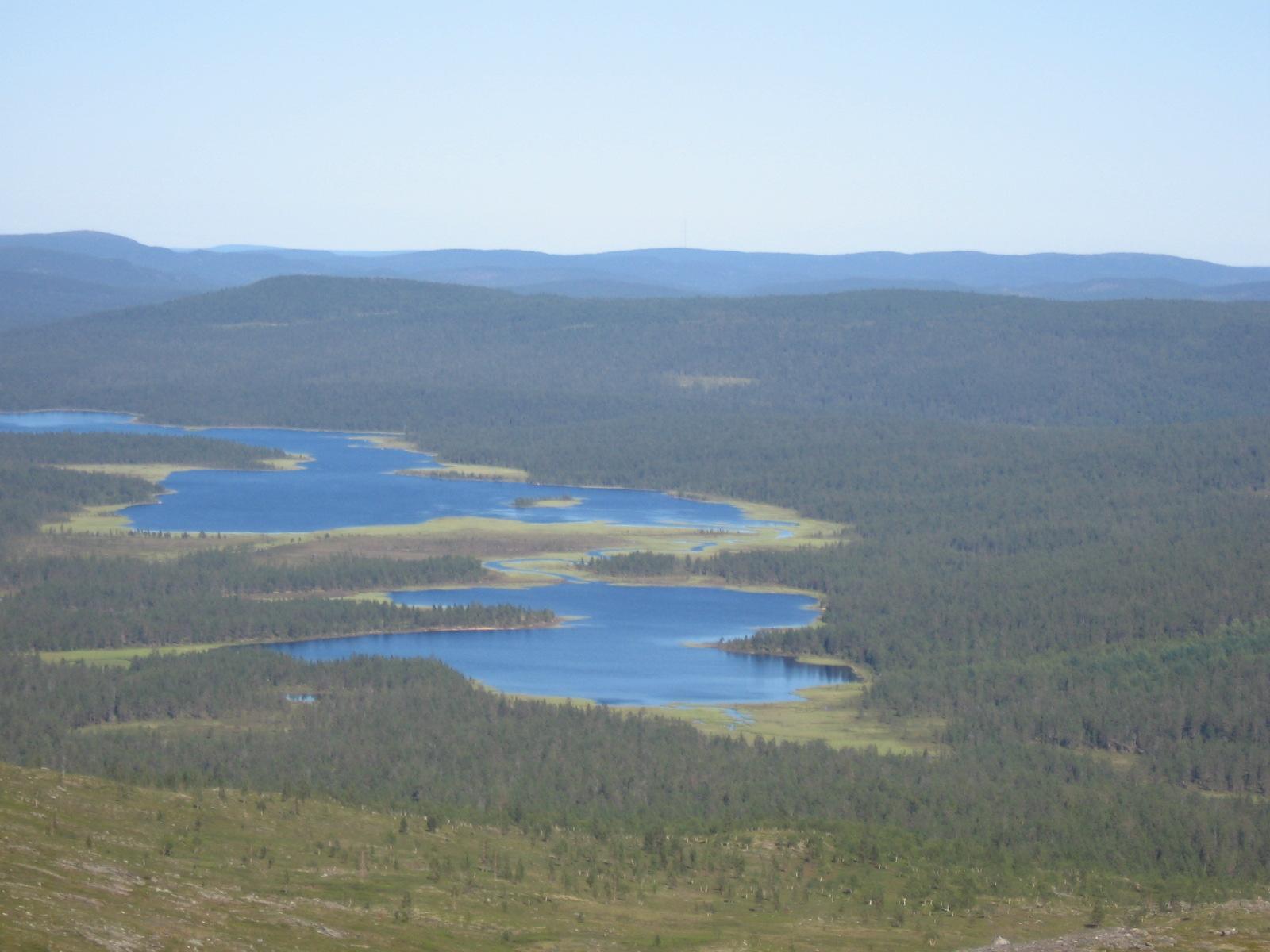 Vuorhajärvi ja Aittajärvi 6.8.2010