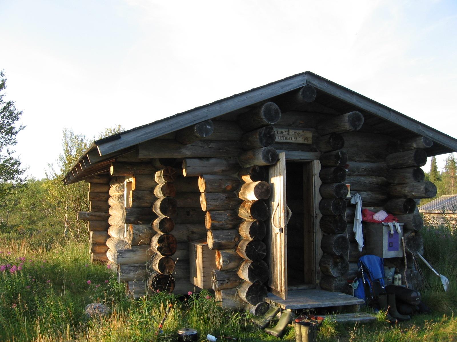 Taimenjärven autiotupa 7.8.2010
