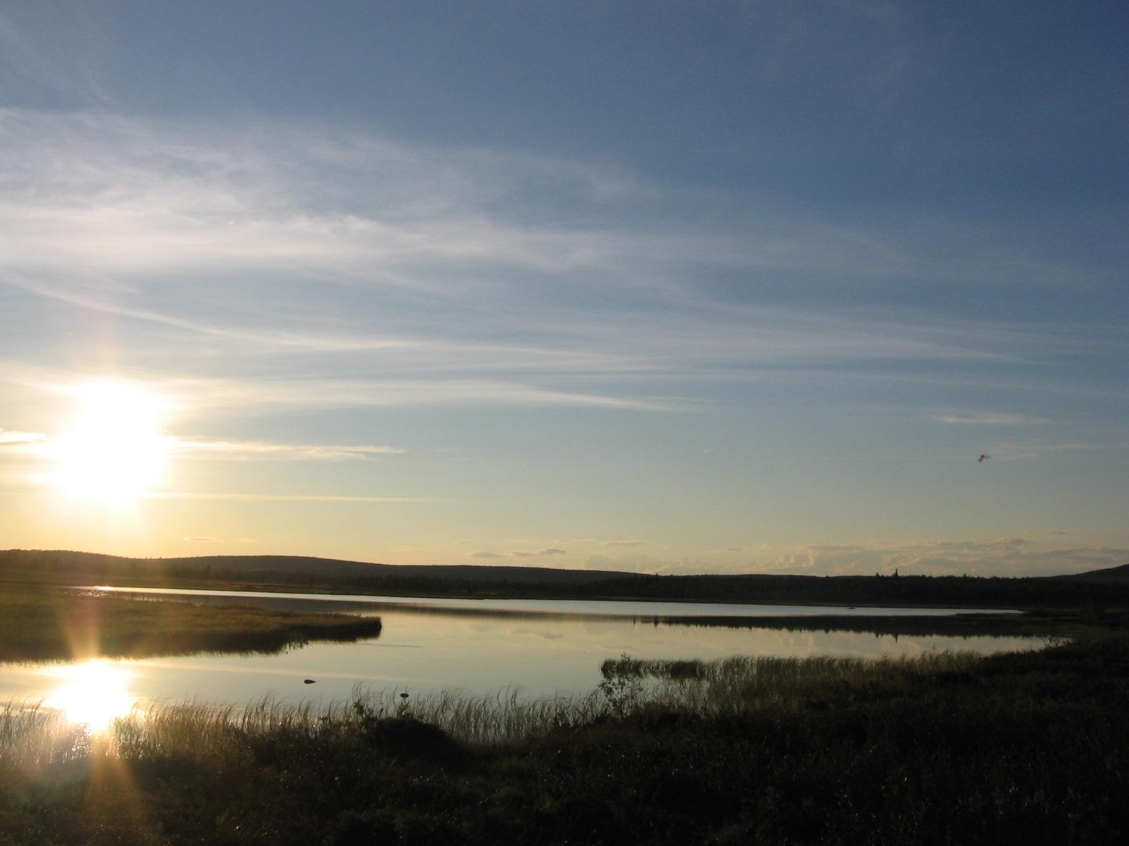 Alimmainen Taimenjärvi 7.8.2010