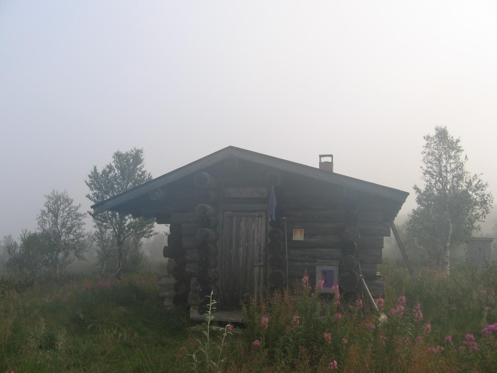 Taimenjärven autiotupa 8.8.2010