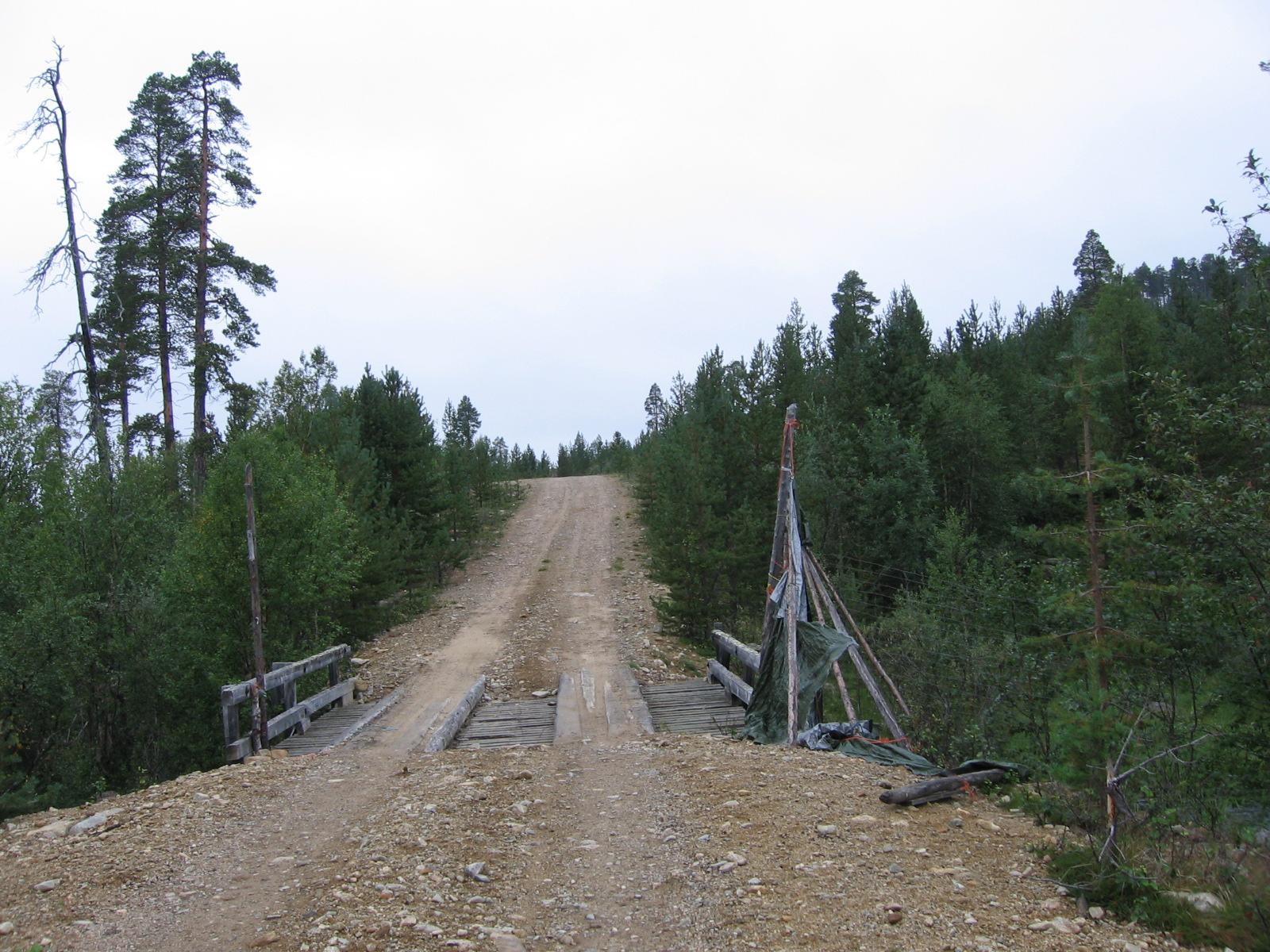 Natsamojoen silta 9.8.2010