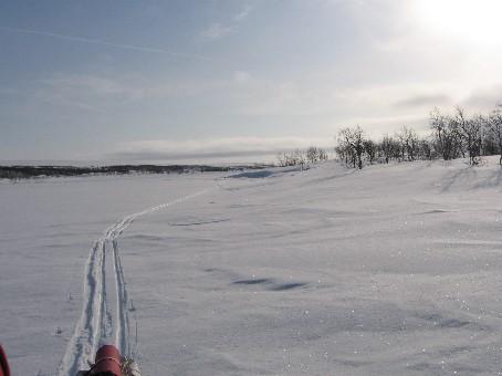 Vuontisjärvellä 21.3.2006
