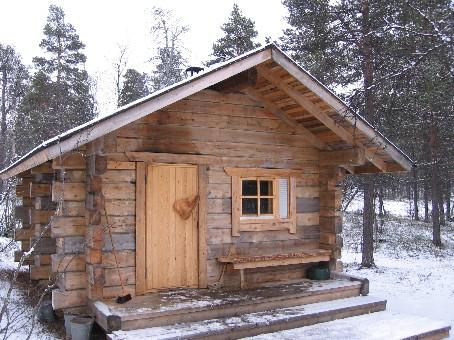Luirojärven sauna 24.10.2006