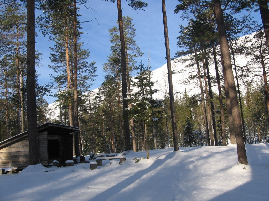 Ukko-Laavu ja Ukko-Luosto 14.10.2009