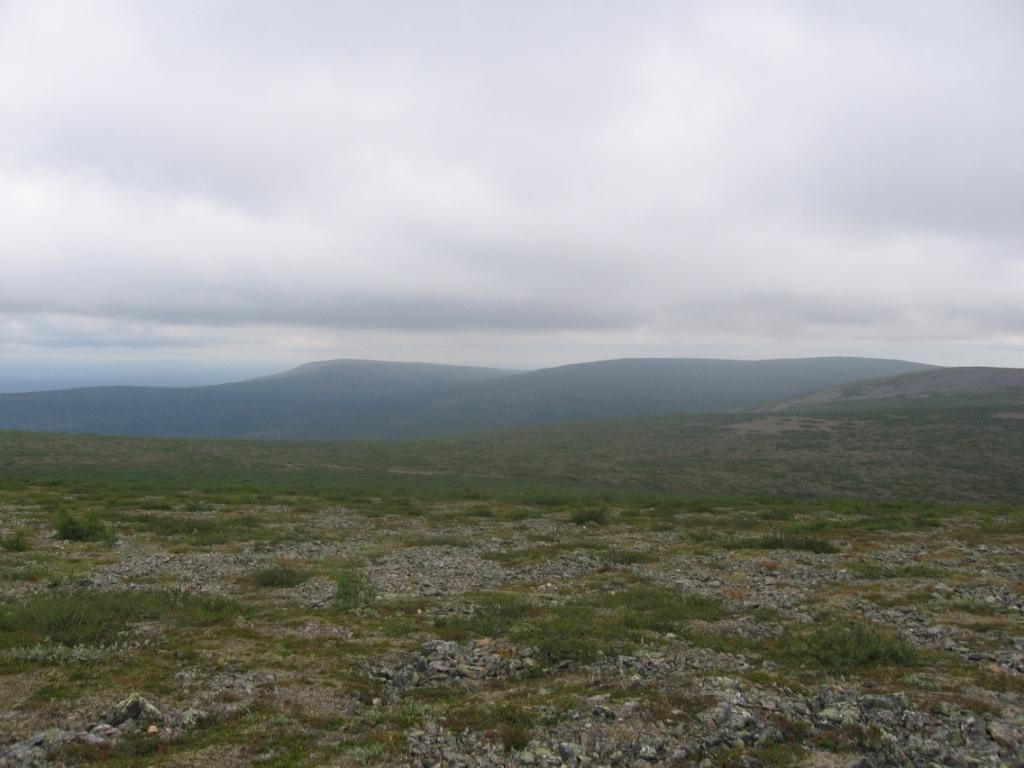 Ladnjoaivin rinteiltä koilliseen 31.7.2007
