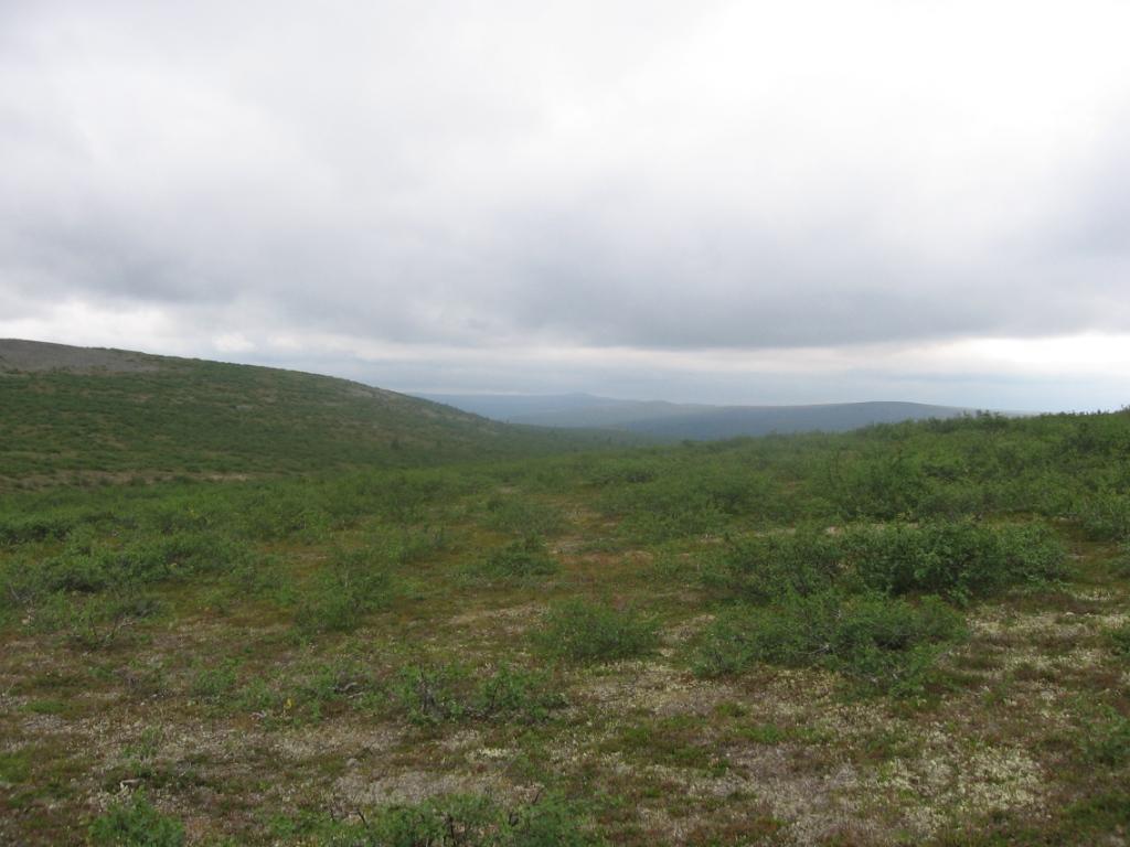 Ladnjoaivin rinteiltä itään 31.7.2007