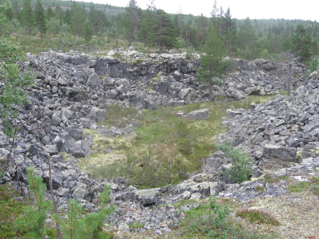 Peuranampumapään rinteillä 1.8.2007
