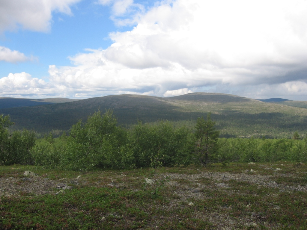 Rahpesoaivi Tsuonjaoaivvikin rinteiltä 2.8.2007