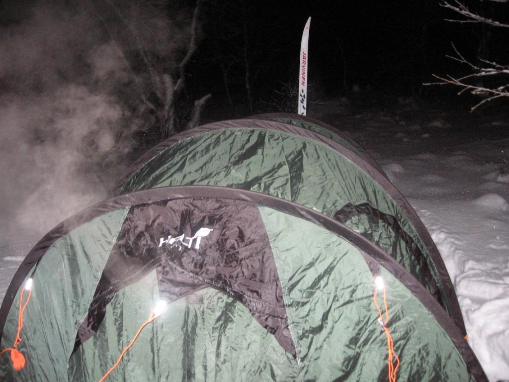 Vain 500 m Stuorraäytsin tuvalle 20.2.2008