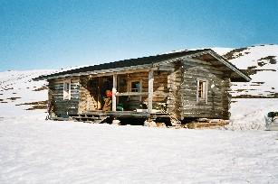 Termbisjärven tupa 25.4.2003