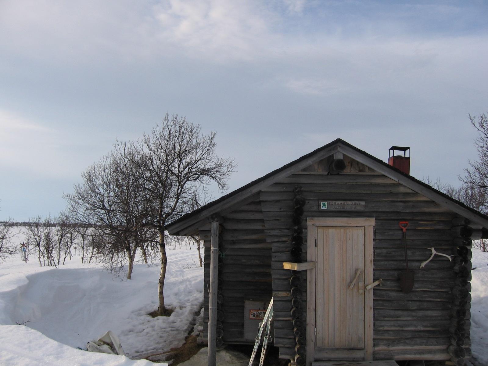 Tsaarajärven autiotupa 12.4.2010