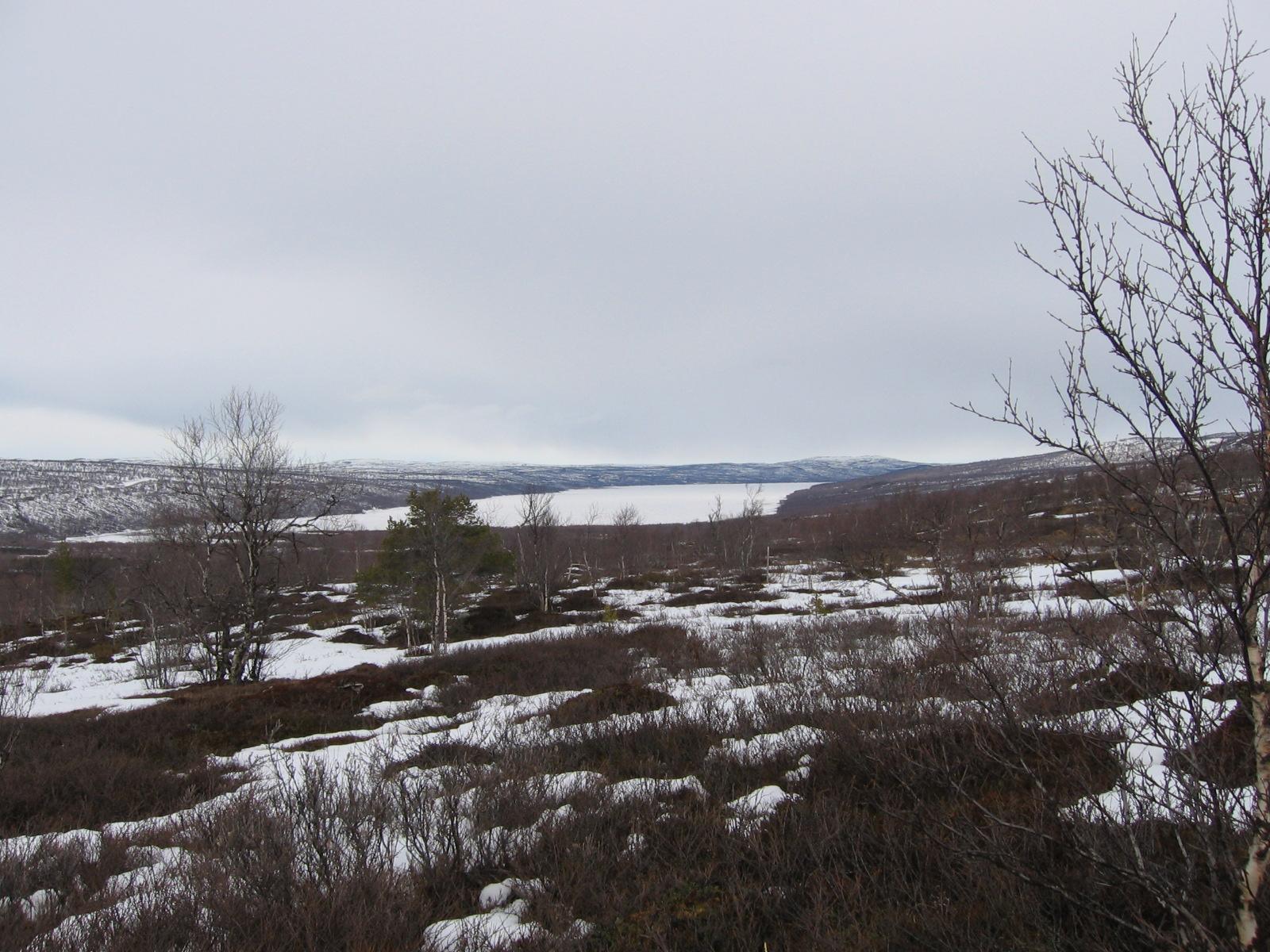 Pulmankijärvi 15.4.2010