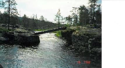 Porttikosken silta 15.7.2000