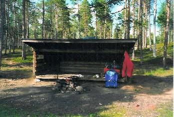 Aittajärven laavu 15.7.2000