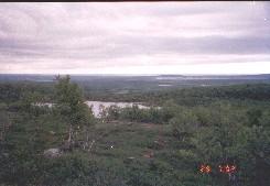 Jeägeloaivin rinteiltä itään 29.7.2002