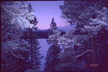 Röyninkuru Vuontisjärven takaa 31.12.2002