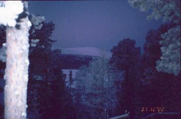 Lumikero Vuontisjärven takaa 31.12.2002