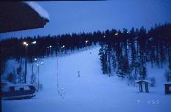 Mikko Kaunispään rinteessä 21.2.2003