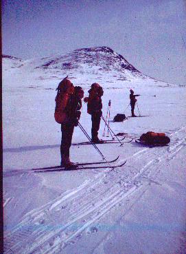 Terbmisjärven itäpäässä 20.4.1980