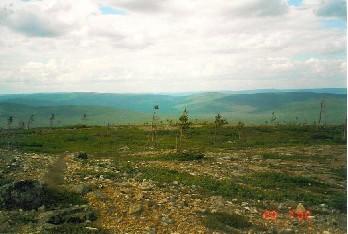 Kuotmuttipäältä Suomulle päin 20.7.2000