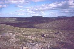 Tsuanjaoaivilta kaakkoon Peäldoaivvakselle 30.7.2002